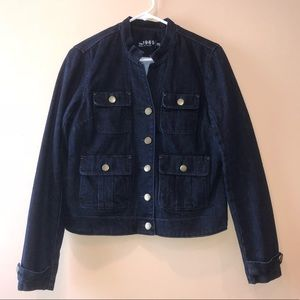 Gap 1969 dark denim button down jean jacket M
